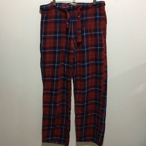 Old Navy Men's Small Red Plaid Sleeping Pants